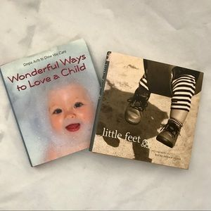 Other - New / 2-Books / Little Feet & Ways To Love A Child